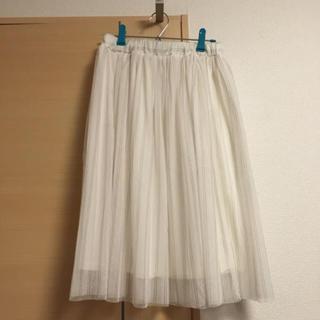 グレイル(GRL)のチュールスカート(ひざ丈スカート)