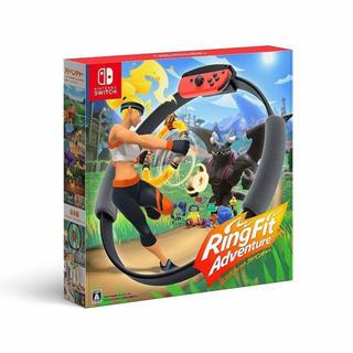 ニンテンドースイッチ(Nintendo Switch)のNintendo Switch リングフィットアドベンチャー 任天堂(家庭用ゲームソフト)