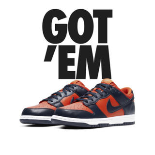 ナイキ(NIKE)のNIKE DUNK LOW Champ Colors 28(スニーカー)