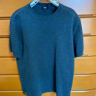 ユニクロ(UNIQLO)のユニクロ 半袖ニット Mサイズ(ニット/セーター)