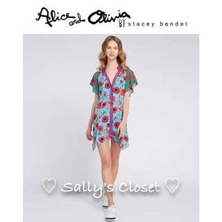 アリスアンドオリビア(Alice+Olivia)の❣️新作 ♡Alice+Olivia アリス+オリビア ワンピース 新品♡ 35(ミニワンピース)