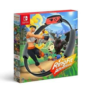 ニンテンドースイッチ(Nintendo Switch)のリングフィットアドベンチャー Nintendo Switch (家庭用ゲームソフト)