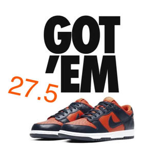 ナイキ(NIKE)のNIKE  dunk low champ  colors 27.5(スニーカー)