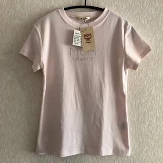 エムシーエム(MCM)の新品未使用 ⭐︎ MCM  Tシャツ レディース ベビーピンク(Tシャツ(半袖/袖なし))