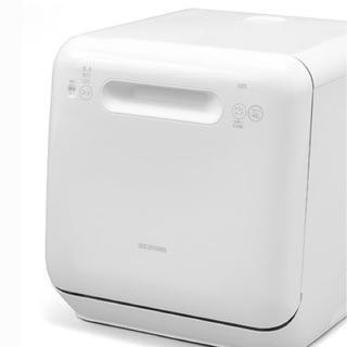 アイリスオーヤマ(アイリスオーヤマ)のアイリスオーヤマ 食器洗い乾燥機 (〜3人用) ホワイト ISHT-5000-W(食器洗い機/乾燥機)
