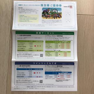 ホンダ(ホンダ)のわしゃじゃば様専用 ホンダ 株主優待券(遊園地/テーマパーク)