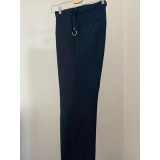 アンユーズド(UNUSED)のURU wide straight pants(スラックス)