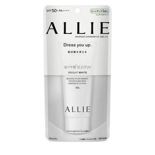アリィー(ALLIE)のカネボウ アリィー ニュアンスチェンジUV ジェル WT(60g)(日焼け止め/サンオイル)
