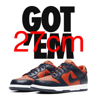 ナイキ(NIKE)のNIKE SB DUNK LOW Champ Colors 27cm(スニーカー)