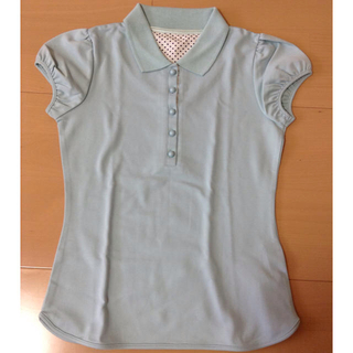 エフデ(ef-de)の新品 半袖 レディース ポロシャツ(Tシャツ(半袖/袖なし))