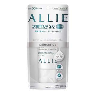 アリィー(ALLIE)のアリィー エクストラUV ハイライトジェル ニュアンスグリーン 60g(日焼け止め/サンオイル)