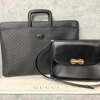 グッチ(Gucci)の《値下げ》GUCCI(オールドグッチ) ビジネスバッグ&ショルダーバッグセット(ビジネスバッグ)