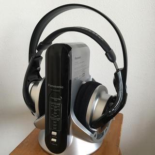 パナソニック(Panasonic)のパナソニック コードレス ヘッドホン(ヘッドフォン/イヤフォン)