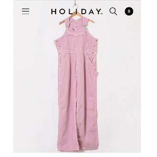 ホリデイ(holiday)のholiday overall(サロペット/オーバーオール)
