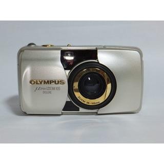 オリンパス(OLYMPUS)の★OLYMPUS★μ(ミュ-)ズ-ム105デラックス・コンパクトカメラ(フィルムカメラ)