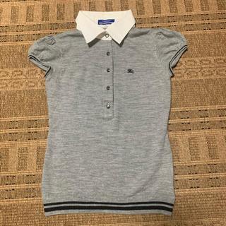 バーバリーブルーレーベル(BURBERRY BLUE LABEL)のバーバリー ブルーレーベル 夏ポロシャツ ニット(ポロシャツ)