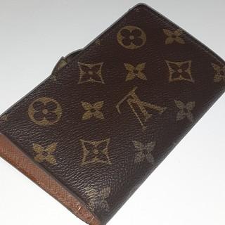 ルイヴィトン(LOUIS VUITTON)のルイヴィトン モノグラム ポルトフォイユ ヴィエノワ がま口  エベヌ 財布(折り財布)