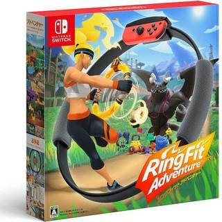 ニンテンドースイッチ(Nintendo Switch)のリングフィットアドベンチャー ニンテンドースイッチ ソフト Switch(家庭用ゲームソフト)
