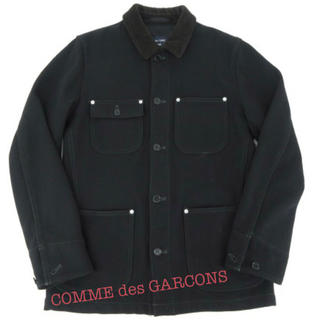 コムデギャルソン(COMME des GARCONS)のCOMME des GARCONS HOMME コーデュロイ切り替えカバーオール(カバーオール)