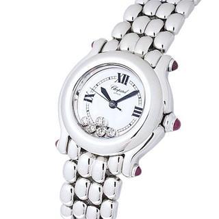 ショパール(Chopard)のショパール ハッピースポーツ 27/8250-21 純正5Pダイヤ(腕時計)