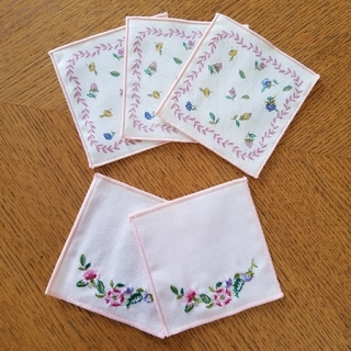 ミントン(MINTON)の[未使用品]ミントン 布コースター 5枚(テーブル用品)