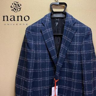ナノユニバース(nano・universe)の【新品未使用】ナノユニバース nano LIBRARY テーラードジャケット M(テーラードジャケット)