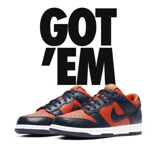 ナイキ(NIKE)のNIKE DUNK LOW CHAMP COLORS27.5cm(スニーカー)