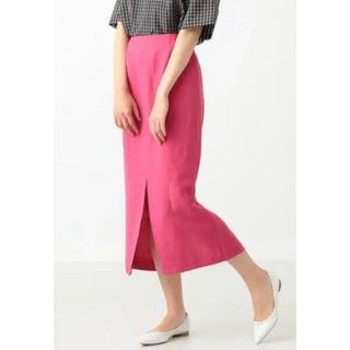 デミルクスビームス(Demi-Luxe BEAMS)の新品 デミルクスビームス リネンスカート(ロングスカート)
