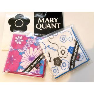 マリークワント(MARY QUANT)の新品 MARYQUANT  ハンカチ2枚(ハンカチ)