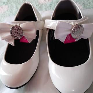 ディズニー(Disney)のビビディバビディブティック 白 17cm フォーマル靴(フォーマルシューズ)