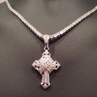 アヴァランチ(AVALANCHE)のAVALANCHE  Silver925  十字架 クロス ネックレストップ(ネックレス)