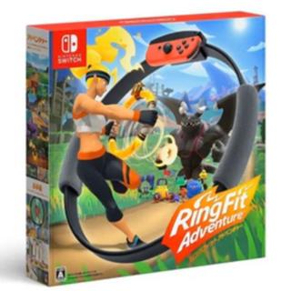 ニンテンドースイッチ(Nintendo Switch)の任天堂 リングフィットアドベンチャー パッケージ版(家庭用ゲームソフト)