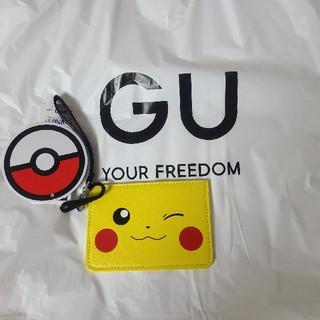 ジーユー(GU)のGU ポケモンパスケース ピカチュウ(パスケース/IDカードホルダー)
