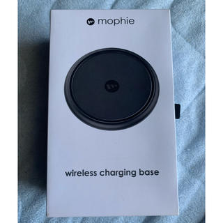 mophie wireless chargingbase(バッテリー/充電器)