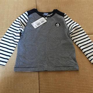 プチバトー(PETIT BATEAU)の新品 プチバトー ロンティー(Tシャツ/カットソー)