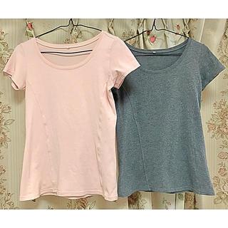 ディーエイチシー(DHC)のDHC 着痩せTシャツ2枚セット(Tシャツ(半袖/袖なし))
