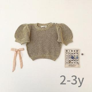 キャラメルベビー&チャイルド(Caramel baby&child )の【美品】soor ploom   2020ss  2-3y(Tシャツ/カットソー)