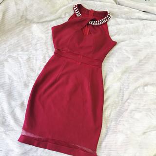 ジュエルズ(JEWELS)のJewels タイトドレス 赤ドレス dazzystore セクシードレス(ナイトドレス)