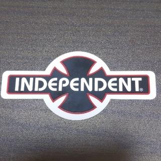 インディペンデント(INDEPENDENT)の(縦4.9cm横10.2cm)INDEPENDENT ステッカー(スケートボード)