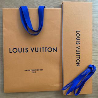 ルイヴィトン(LOUIS VUITTON)のルイヴィトン紙袋とネクタイの箱(その他)