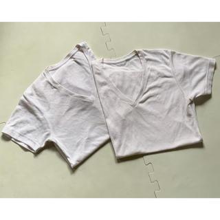 ユニクロ(UNIQLO)のUNIQLO メンズ インナーシャツ 2枚(その他)