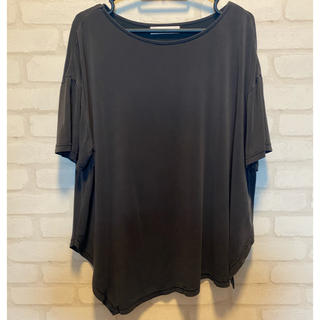 アズールバイマウジー(AZUL by moussy)のAZUL BY MOUSSY アシンメトリーカットソー(Tシャツ(半袖/袖なし))