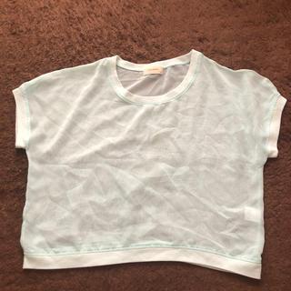 レピピアルマリオ(repipi armario)のレピピアルマリオ シースルートップス XSサイズ(Tシャツ/カットソー)