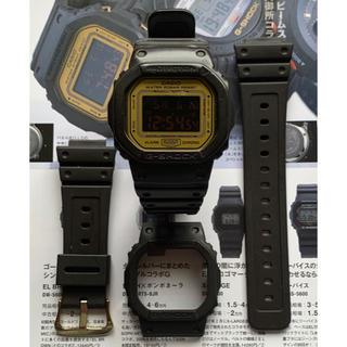 ジーショック(G-SHOCK)のG-SHOCK DW-5600NU-9JR ナノ・ユニバース 新品ベルベゼ付(腕時計(デジタル))