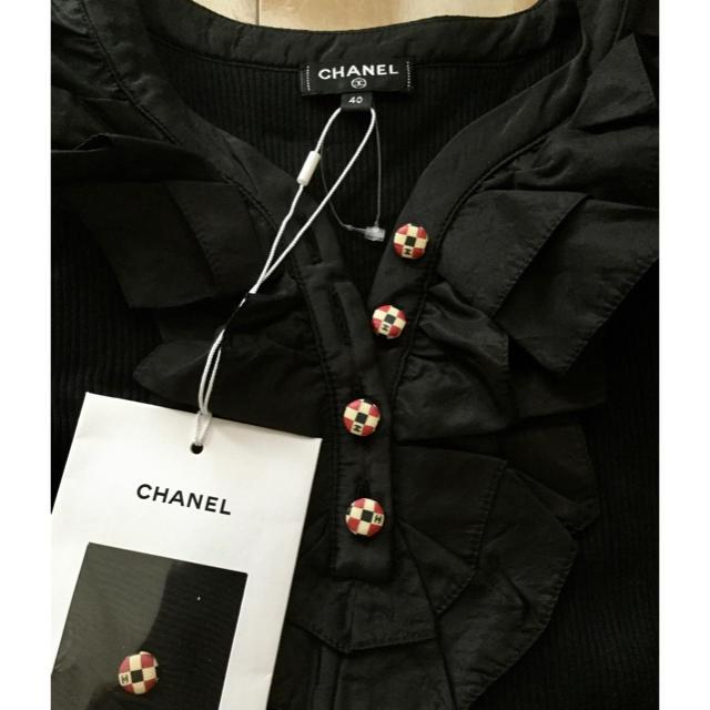 CHANEL(シャネル)のシャネルのニットブラウス未使用 レディースのトップス(ニット/セーター)の商品写真