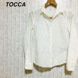トッカ(TOCCA)のTOCCA 長袖 ブラウス 白シャツ /ホワイト(シャツ/ブラウス(長袖/七分))