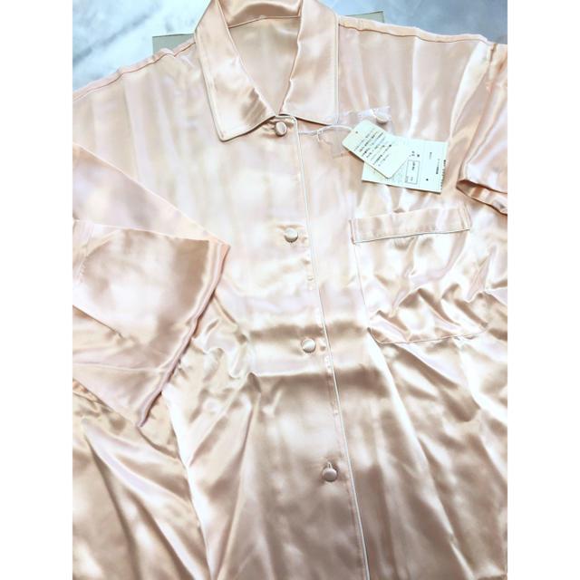 Wacoal(ワコール)のワコール 絹パジャマ シルクパジャマ ピンク レディース 高級パジャマ レディースのルームウェア/パジャマ(パジャマ)の商品写真