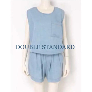 DOUBLE STANDARD CLOTHING - ★ダブルスタンダード★デニム ロンパース ドアーズ バンヤードストーム