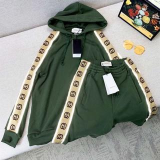 グッチ(Gucci)の【GUCCI】フーデッド コットン スウェットシャツ セット(パーカー)