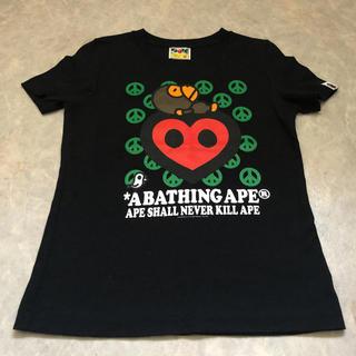 アベイシングエイプ(A BATHING APE)の未使用に近い アベイシングエイプ APE Tシャツ 半袖(Tシャツ(半袖/袖なし))